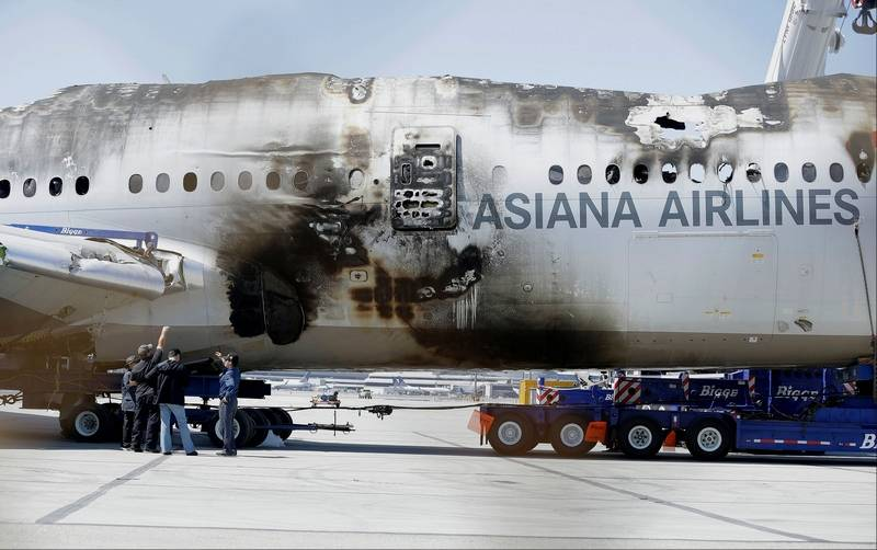 Asiana to sue San Francisco TV station over names