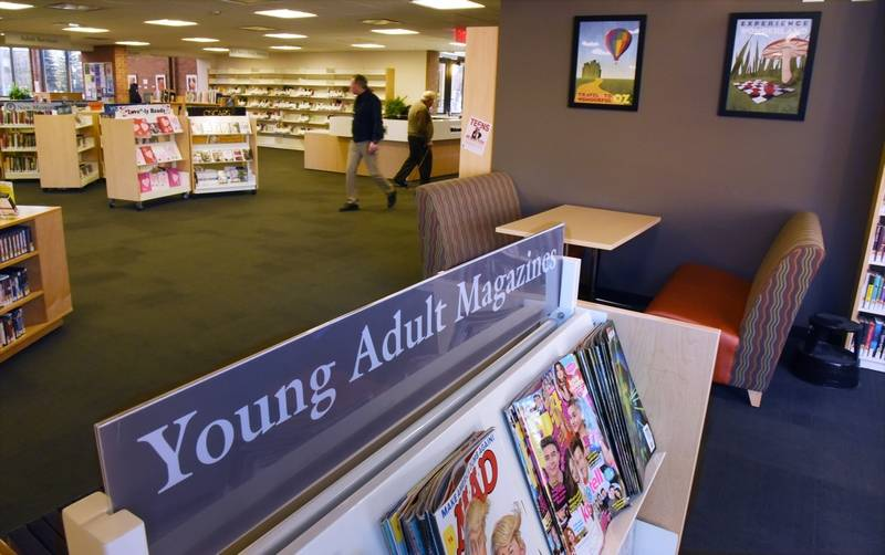 Libertyville will rebate $2.36 million to various taxing bodies. The Cook Park Library will use its rebate to relocate the young adult area to the basement and replace it with a sitting area.