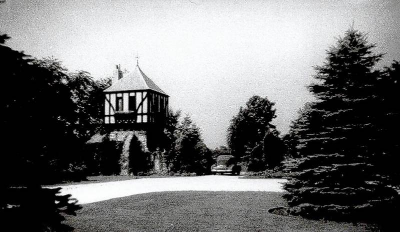 This undated photo shows the Tudor home on the Swanson family estate during Rosemont's early days.