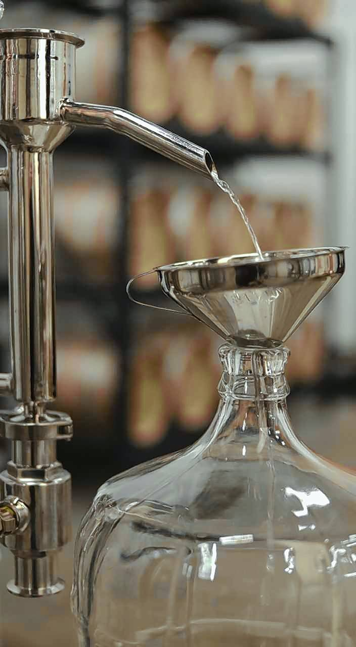 A variety of spirits are produced at a growing local small batch craft distillery in Geneva.