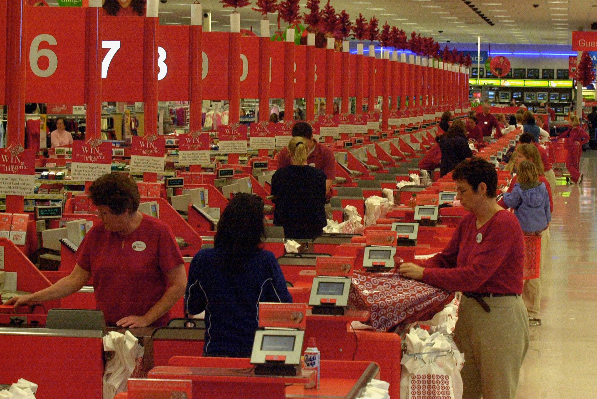 Target is offering more incentives than usual to lure temporary employees to its 1,800 stores and 39 distribution centers.