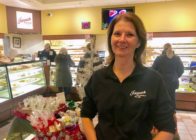 Kathy Jarosch, who owns Jarosch Bakery with her husband, says Elk Grove Village's sponsorship of the Bahamas Bowl is an innovative way to bring recognition to the town.