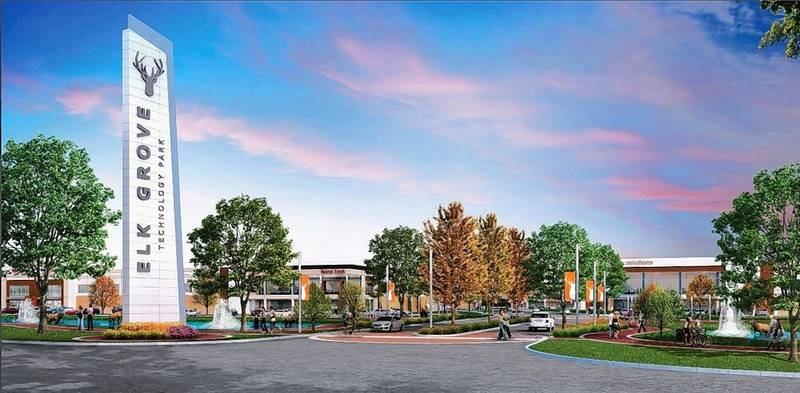 Some Elk Grove Village business owners say they believe the village's sponsorship of a college football bowl game will draw attention to the new $1 billion technology park being constructed in the village.